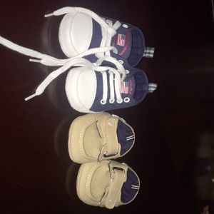 Other - Infant shoes Nautica size 1c And u.s. Polo size 1c